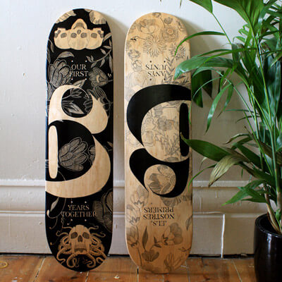 Six | Skateboard Design