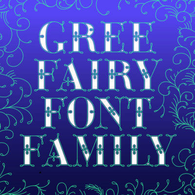 New Font Release 2018: Font News – Green Fairy