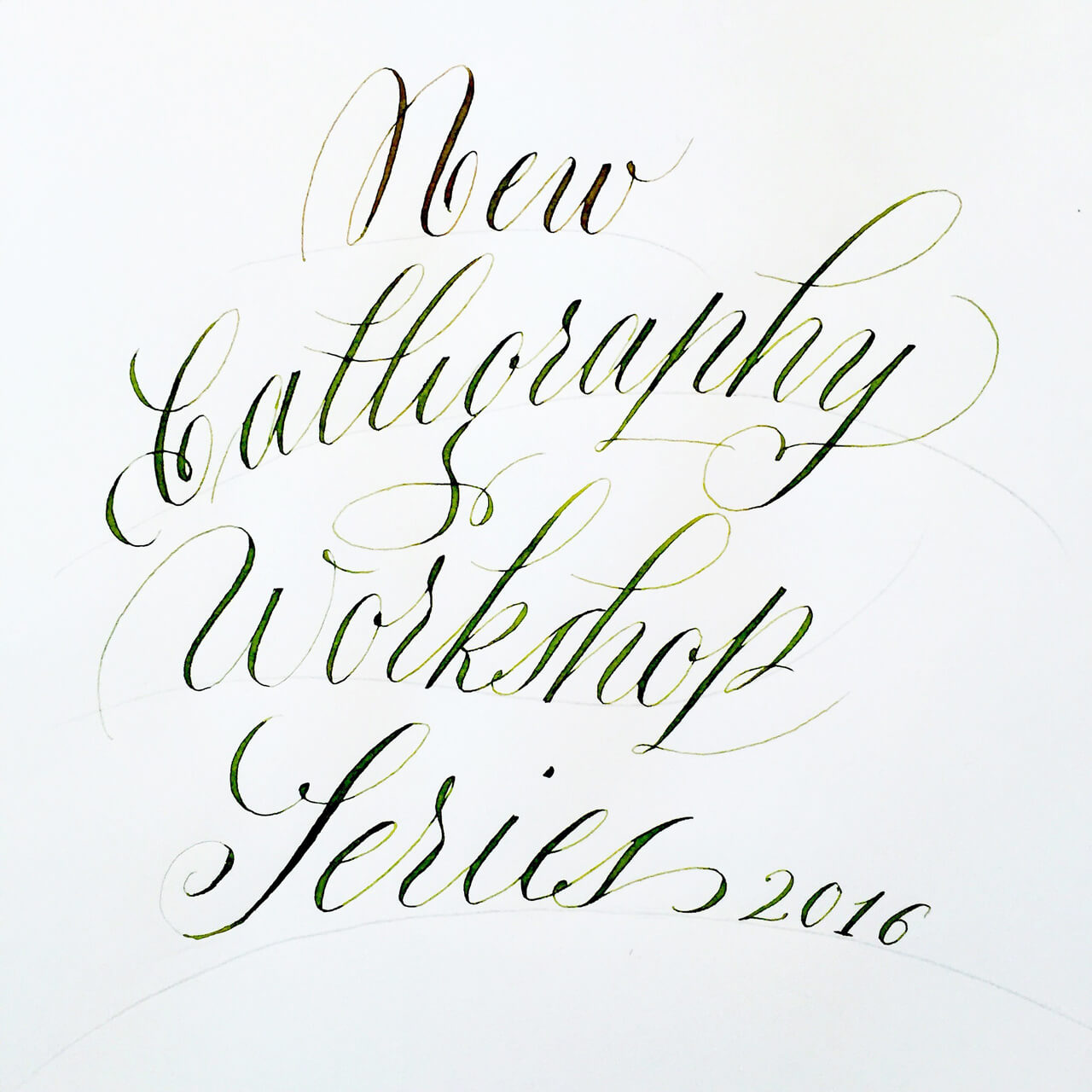 Copperplate Calligraphy 2016 Maria Montes Maria Montes