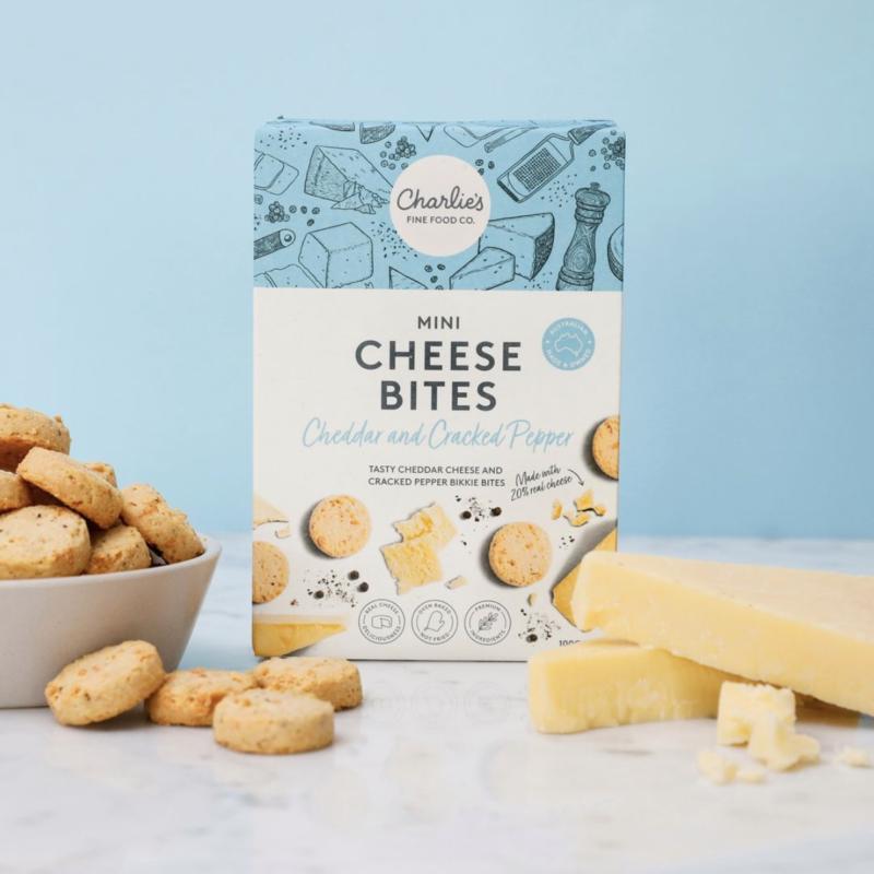 Charlie's Mini Cheese Bites | Illustrations