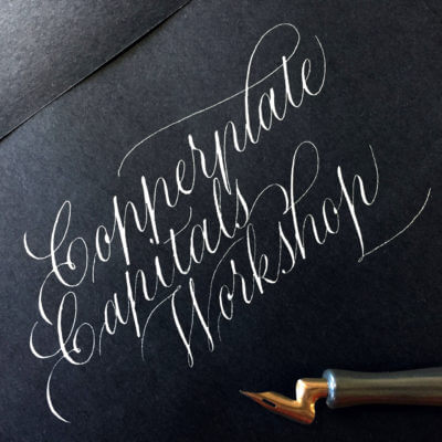 Copperplate Capitals Weekend Workshop