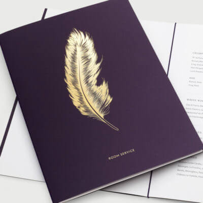 Feather – L'oscar Hotel Logomark