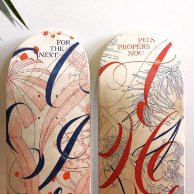 Nine | Skateboard Design