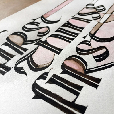Celtic Calligraphy in France