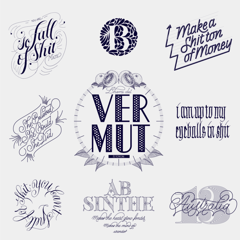 Lettering & Brand Identity Collection