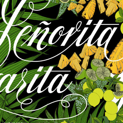 Señorita Margarita Artwork
