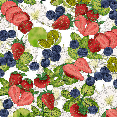 Strawberry Mojito Pattern