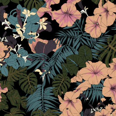 Tropical Forest Print