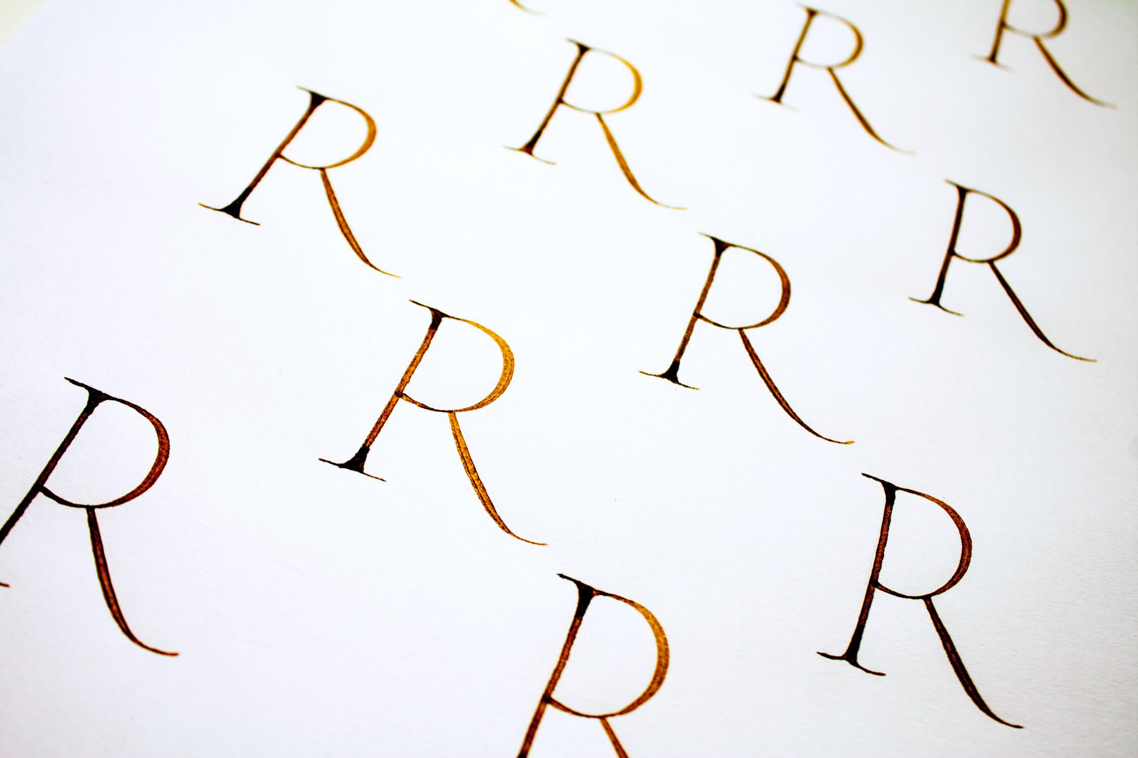 Roman Capitals Calligraphy - Maria Montes