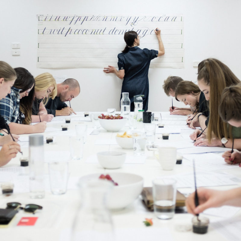 In-Person Calligraphy Workshops