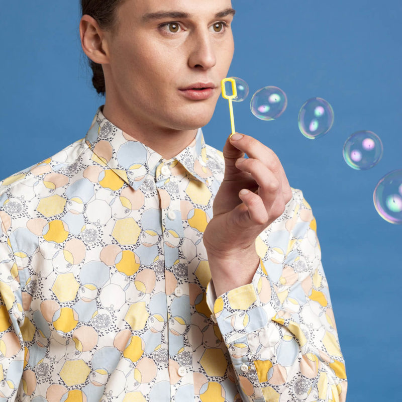 Bubble Print Menswear
